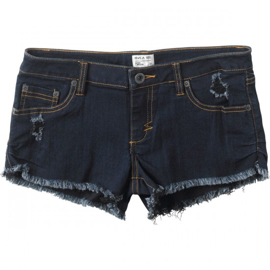 RVCA Caraway Shorts - Dark Denim