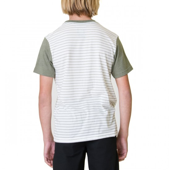 RVCA Change Up Youth T-Shirt - Fatigue