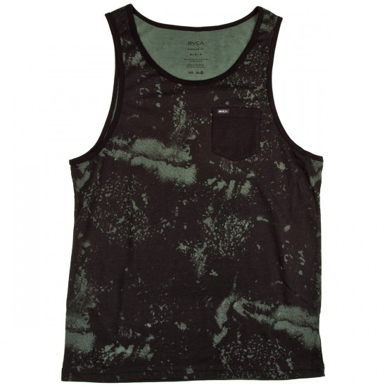 RVCA Change Up Tank Top - Duck Green