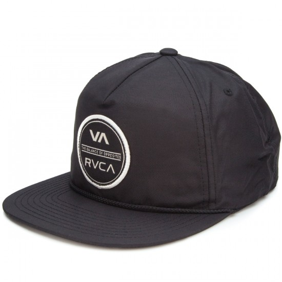 RVCA Circle Type Hat - Black