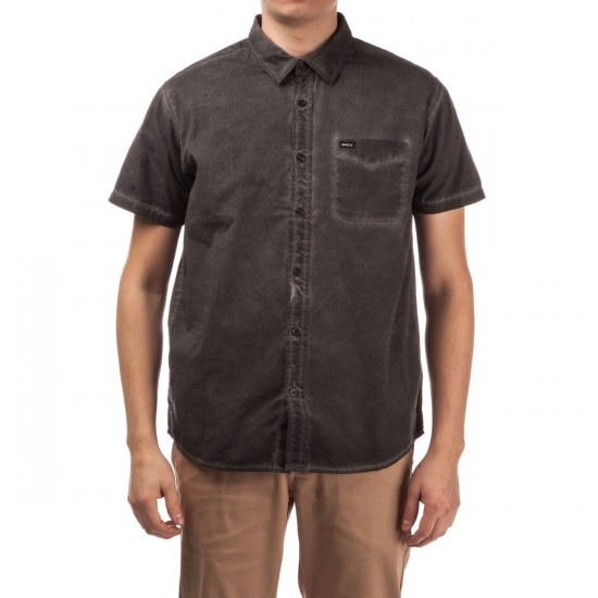 RVCA Cold Ones Short Sleeve Shirt - Pirate Black