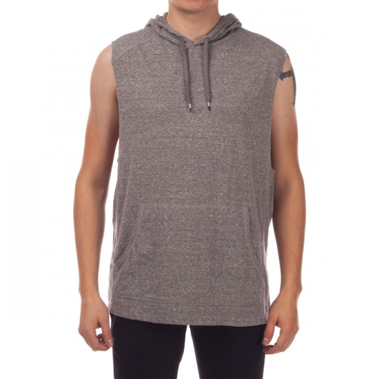 RVCA Compound Hoodie - Grey Noise