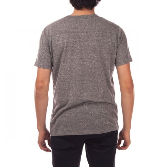 RVCA Compound Heavy Weight T-Shirt - Grey Noise
