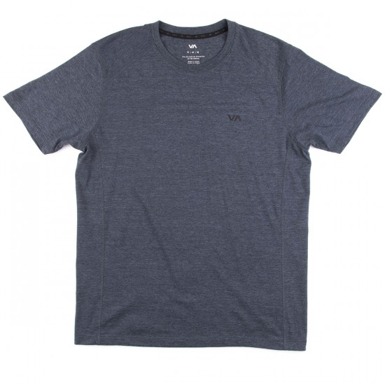 RVCA Compound Short Sleeve T-Shirt - Midnight