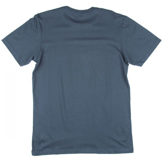 RVCA Cut Out Box T-Shirt - Midnight