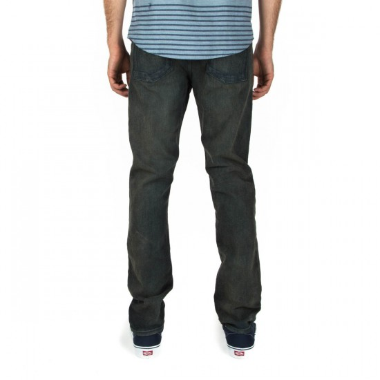 RVCA Daggers Denim Pants - Dusty Shadow - 29 - 32