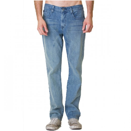 RVCA Daggers Denim Pants - Indigo Bleach - 29 - 32