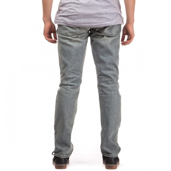 RVCA Daggers Denim Pants - Vintage Bleach - 28 - 32