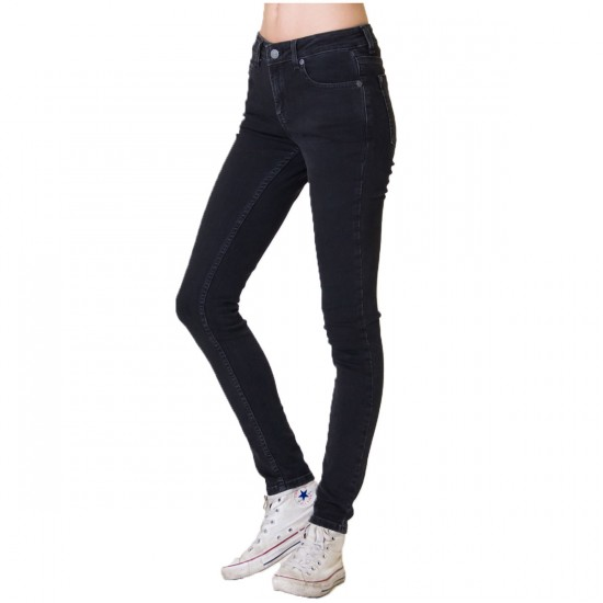 RVCA Dayley Womens Pants - Faded Black