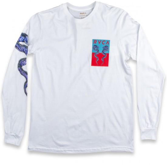 RVCA Eels Long Sleeve T-Shirt - White