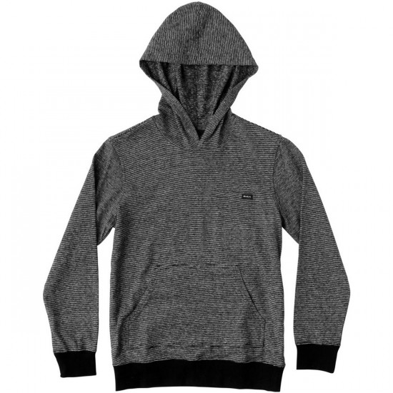 RVCA Feeder Boys Hoodie - Pirate Black