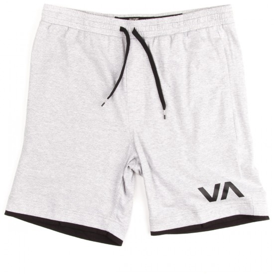 RVCA Layers Shorts - Athletic Heather With Black