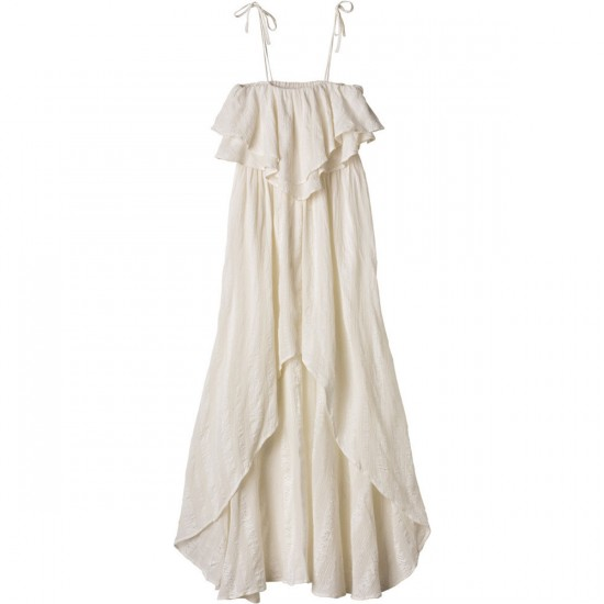 RVCA Luck Now Dress - Vintage White