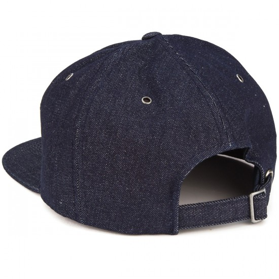 RVCA Notes Six Panel Hat - Indigo