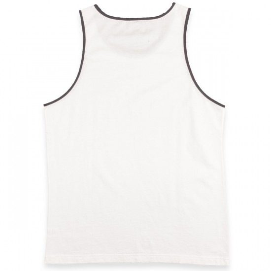 RVCA Outfield Tank Top - Vintage White