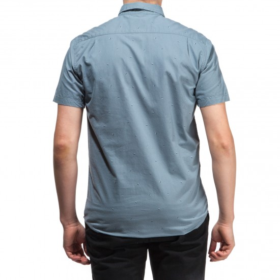 RVCA Particle Theory Shirt - Stormy Blue