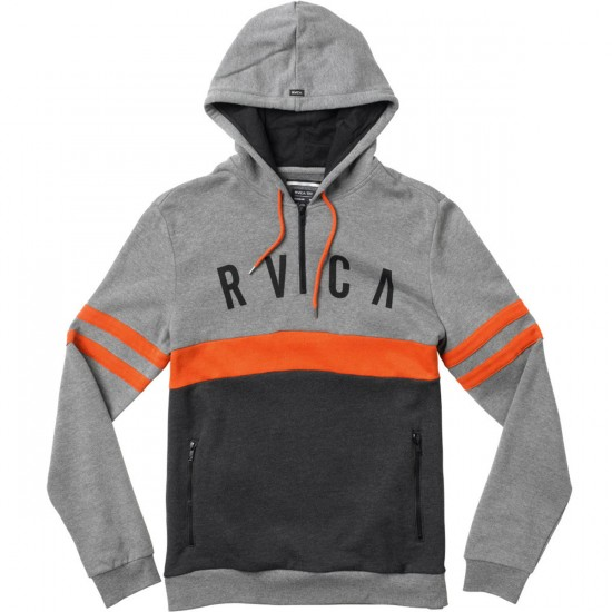 RVCA Pickup Pullover Youth Sweatshirt - Grey Noise