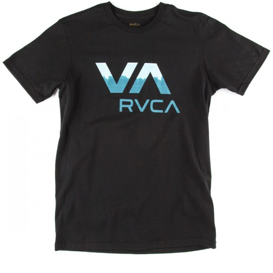 RVCA Quick Drip VA T-Shirt - Black