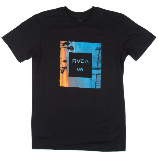 RVCA Skylines 2 T-Shirt - Black