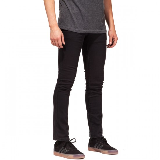 RVCA Spanky PVSH Fresh Pants - Black - 30 - 32