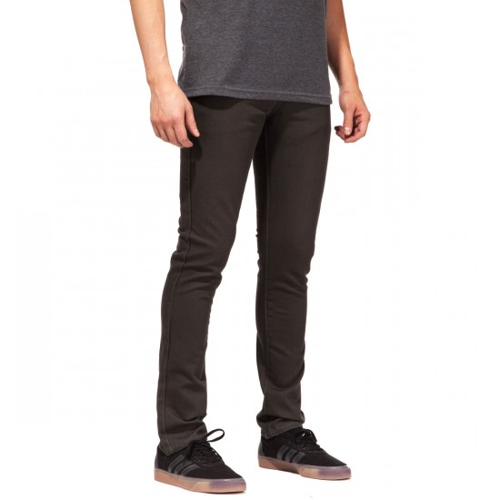 RVCA Spanky PVSH Fresh Pants - Coalmine - 34 - 32