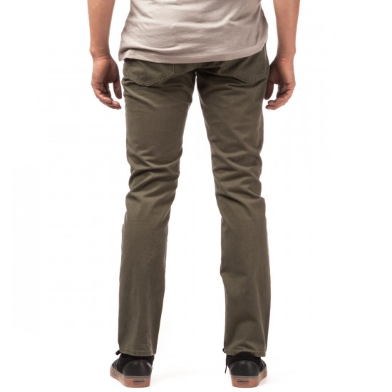 RVCA Stay RVCA Pants - Fatigue - 28 - 32