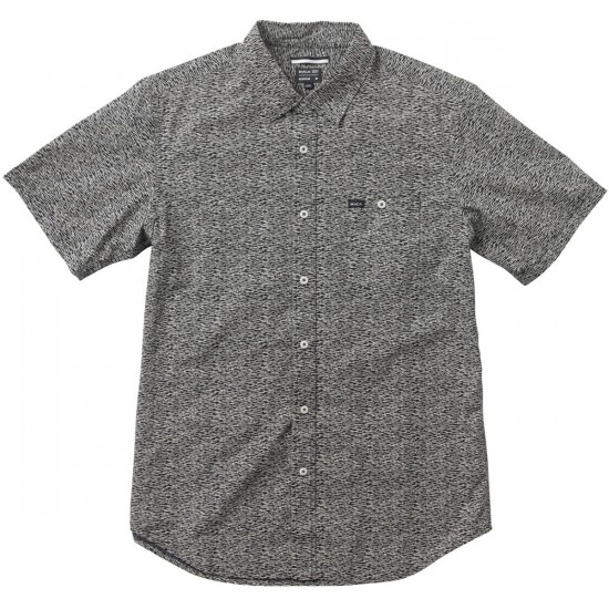 RVCA Stix Short Sleeve Woven Shirt - Navy