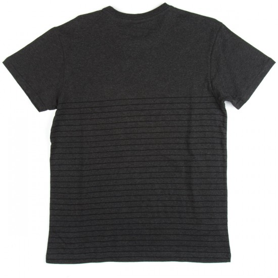 RVCA Switch Up Crew T-Shirt - Charcoal Heather