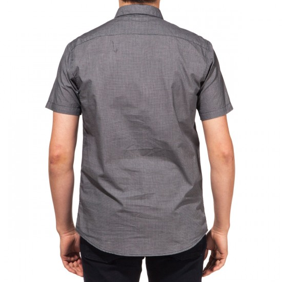 RVCA That'll Do Micro Short Sleeve Shirt - Carbon
