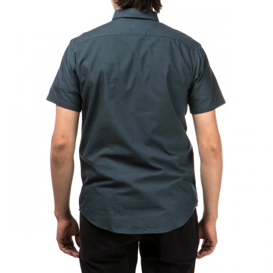 RVCA That'll Do Oxford Short Sleeve Shirt - Carbon