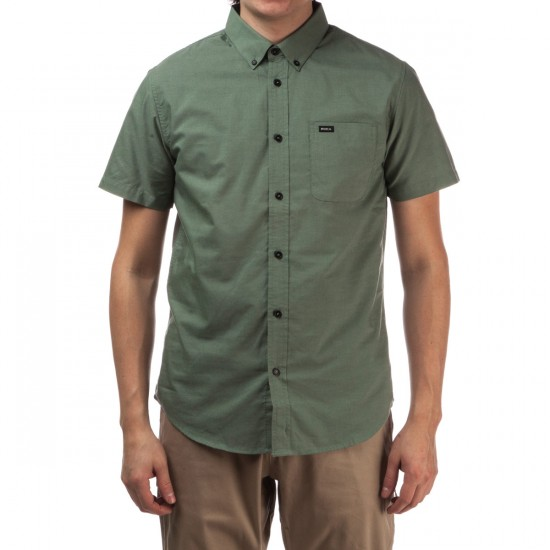 RVCA That'll Do Oxford Short Sleeve Shirt - Duck Green
