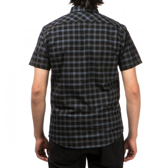 RVCA That'll Do Plaid Short Sleeve Shirt - Black