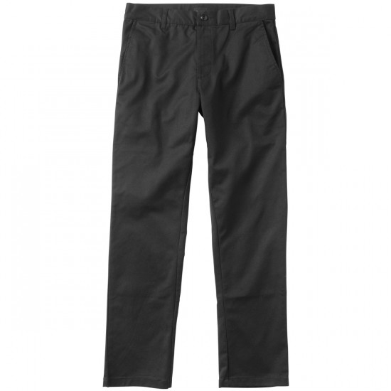 RVCA The Week-End Stretch Pants - Black - 28 - 32