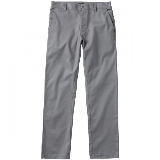 RVCA The Week-End Stretch Pants - Smoke - 28 - 32