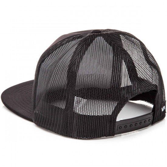 RVCA Tiki Trucker Hat - Black/White