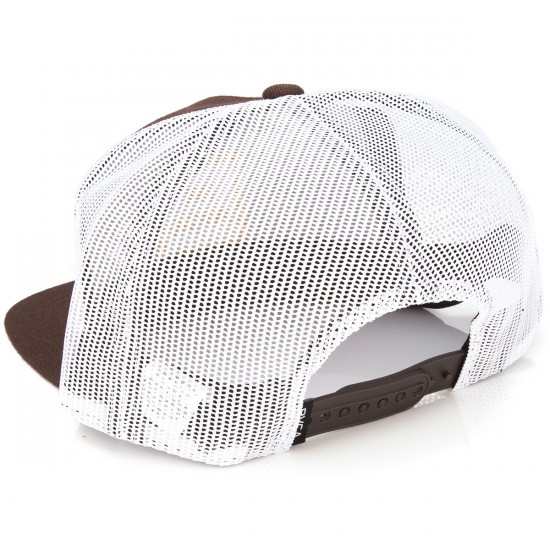 RVCA VA All The Way Truck Hat - Chocolate
