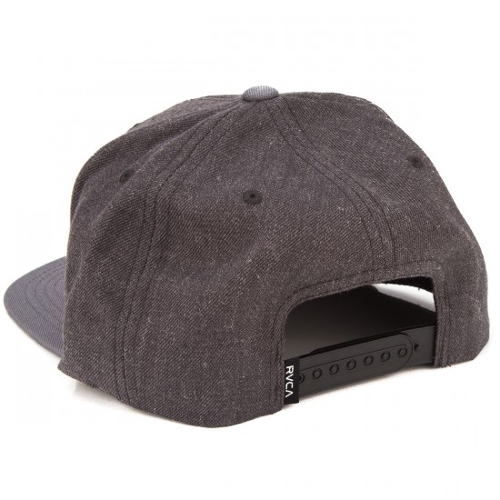 RVCA VA Snapback II Hat - Charcoal Heather