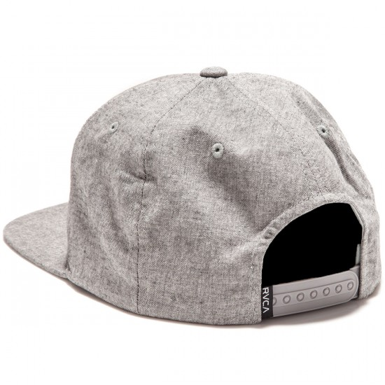RVCA VA Snapback II Hat - Cool Grey