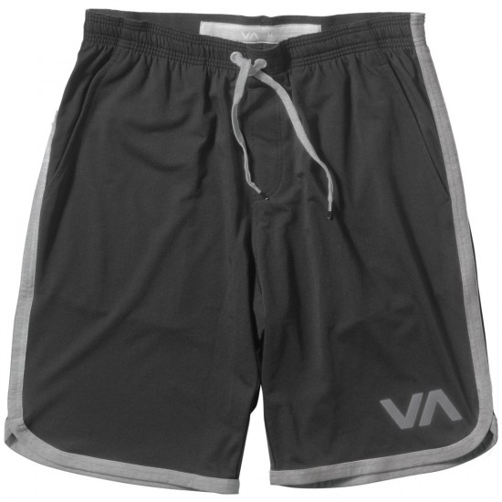 RVCA VA Sport II Shorts - Black/Athletic Grey