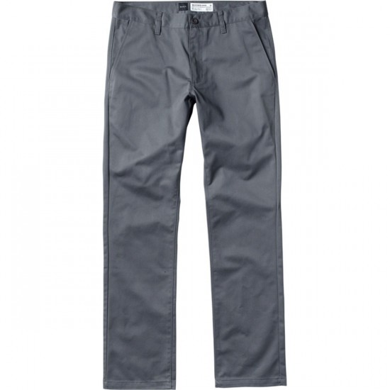 RVCA The Week-End Chino Pants - Pavement - 30 - 32