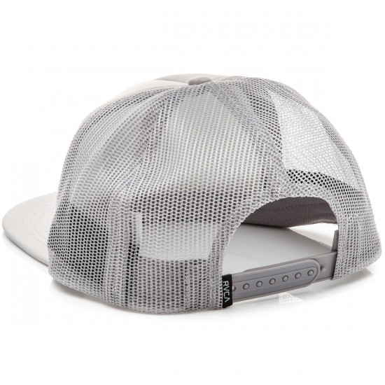 RVCA Well Done Trucker Hat - Light Grey