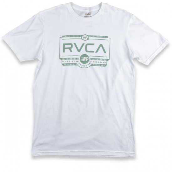 RVCA Woodwork T-Shirt - White