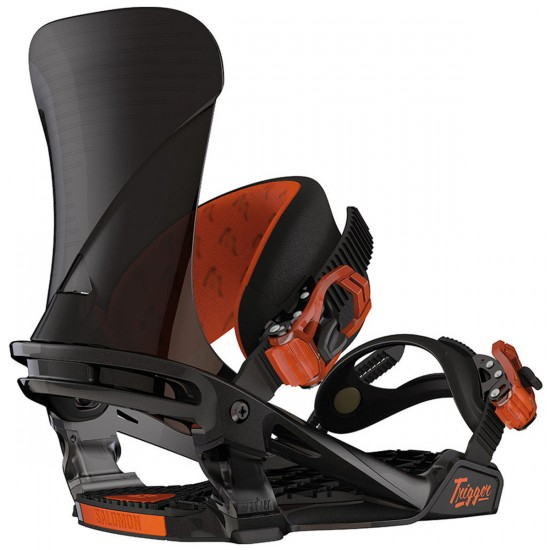Salomon Trigger Snowboard Bindings - Black/Orange