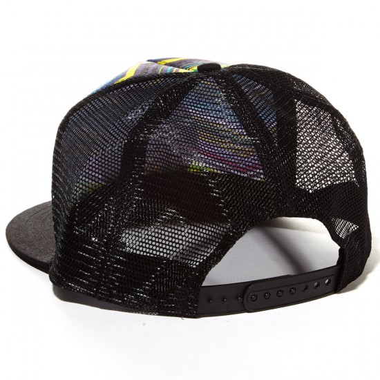 Santa Cruz Classic Dot Trucker Hat - Multi Chevron