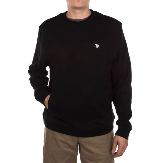 Santa Cruz Howler Crew Neck Sweatshirt - Black