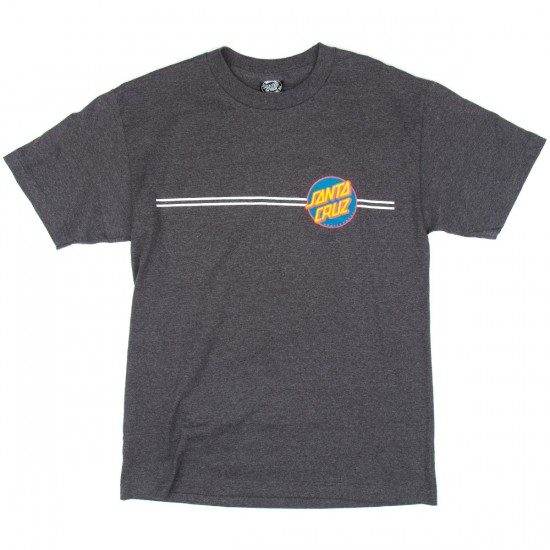 Santa Cruz Other Dot T-Shirt - Charcoal Heather with Navy