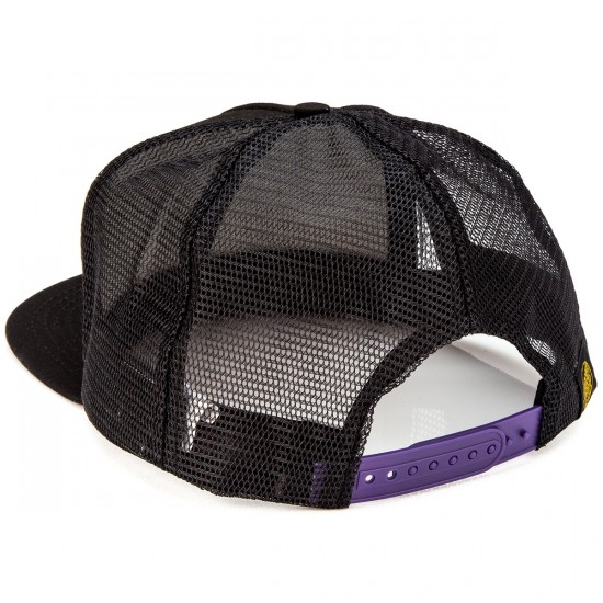 Santa Cruz Psyched Trucker Mesh Hat - Black