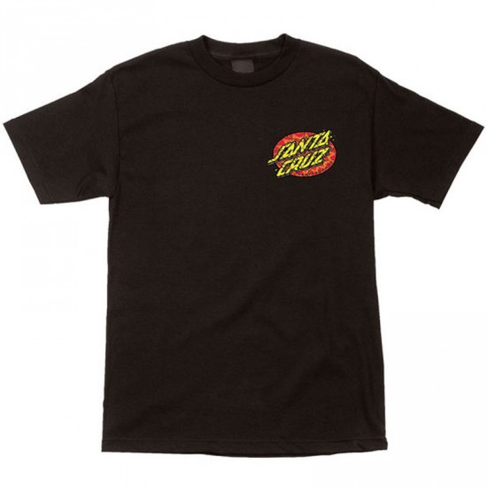 Santa Cruz Psychedelic Dot T-Shirt - Black