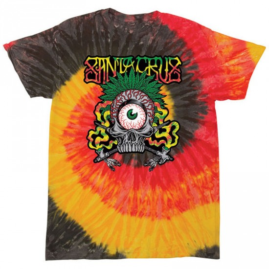 Santa Cruz Rasta Tribe T-Shirt - Kingston/Tye Dye