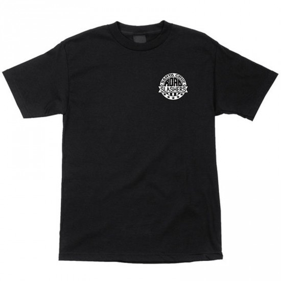 Santa Cruz Road Slasher T-Shirt - Black